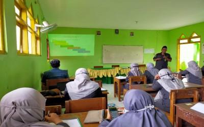 Sosialisasi Teknis Penyusunan Perangkat Pembelajaran Masa Darurat  dalam Giat Supervisi dan Pembinaan oleh Pengawas Madrasah  di MTs Negeri 3 Demak